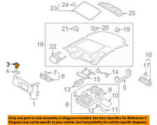 AUDI OEM 02-18 A4 Quattro Interior-Roof-Holder 8W0857562A4PK