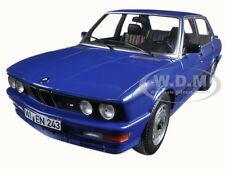 1987 BMW M535i BLUE METALLIC 1/18 DIECAST MODEL CAR BY NOREV 183267