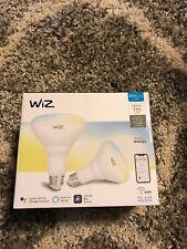 WiZ WiFi BR30 LED 750 lumens Smart Bulb White EQ. 60W 4-Pack Brand New Sealed!