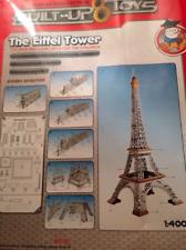 Puzzle 3D Torre Eiffel Built Up Toys Nuevo