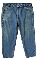 Carhartt Denim Jeans Relaxed Fit Cotton USA Made Mens Sz 46x30 (Actual 44x29)