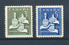 CANADA 1965 CHRISTMAS SG568/569 BLOCKS OF 4 MNH