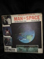 Rare B657 America's Man in Space Project Mercury Glenn view-master Reels Packet