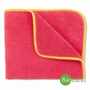 Norwex 2 Kids Towel - with yellow trim - Pink