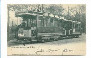 XX14108/ Hamburg Straßenbahn AK 1901