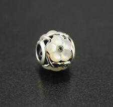 Original PANDORA Element Charm 791899czr Shiny Strawberry Silver