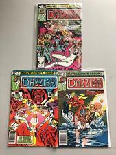 Lot of 6 Dazzler (1981) #2 4 15 18 34 40 VF Very Fine