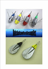 BREAKAWAY IMPACT LEADS ALL SIZES / SEA FISHING WEIGHTS x 3 Qty