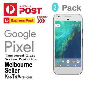 2x Genuine Tempered Glass Screen Protector for Google Pixel and Pixel XL