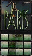 Paris 1976 Big Towne 2061 Calendar Promo Flat Bob Welch Fleetwood Mac