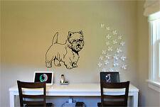 Terriers Dachshund Pugs Shih Tzu Dog Pet Wall Sticker Murals 20 Breeds to Choose