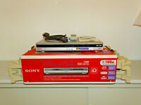Sony RDR-HX725 DVD-Recorder / 160GB HDD in OVP, Silber, FB&BDA, 2J. Garantie
