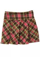 Nwt Gymboree Woodland Friends Plaid Trendy Skort Size 7 BTS Fall Thanksgiving