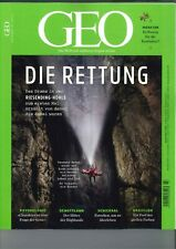 GEO Magazin, Heft 7|2019: Die Rettung  +++wie neu +++