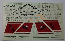 1/48ème  DECALS pour F-14D TOMCAT  -  REVELL MONOGRAM  -  NEUF