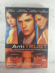 AntiTrust DVD - RYAN PHILLIPPE - Region 4