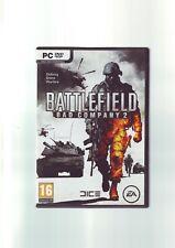 Battlefield: Bad Company 2-Juego de PC-rápido post-Original y Completo-En muy buena condición