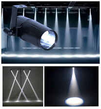 10W Mini LED White Stage Lighting Beam Spotlight DJ Disco Spin Pinspot Light