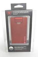 Mophie Juice Pack Boost 2000mAh for iPod & iPhone dock connector - Red