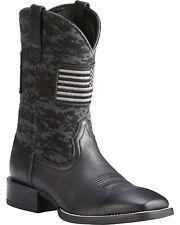 Ariat® Men's Black Sport Patriot Square Toe Boot 10023361