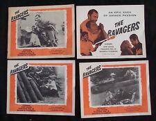 RAVAGERS Lobby card set JOHN SAXON 1965