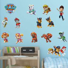 Large Paw Patrol Themed Bedroom Colour Wall Stickers Cut Vinyl Transfer Decal