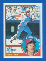 1983 Topps #300 Mike Schmidt Philadelphia Phillies HOF NM-MT