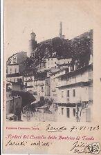 # TENDA: RUDERI DEL CASTELLO DELLA BEATRICE DI TENDA - 1903