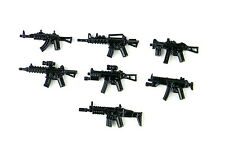 Weapons Pack v3 Custom Guns Army (P18) compatible with toy brick minifigures