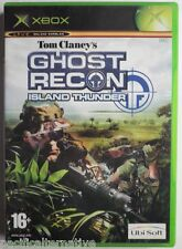 Jeu TOM CLANCY'S GHOST RECON ISLAND THUNDER sur XBOX francais fps cuba