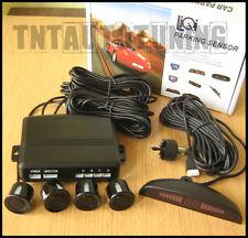 Kit 4 Sensori di Parcheggio Nero con Display LED e Buzzer Allarme