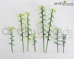 8 x Modell Baum - Bambus, Bamboo Bäume für Landschaft  Modellbau