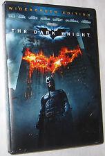 The Dark Knight DVD 2008 Widescreen Heath Ledger Christian Bale FREE SHIP U.S.A.
