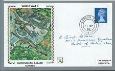 RAF Pilot Harold Bird-Wilson signed cover B.O.B.