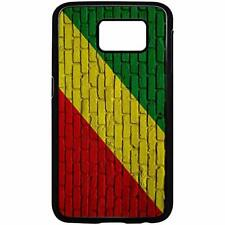 Samsung Galaxy Case with Flag of Congo Options