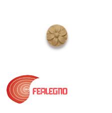 FREGIO IN PASTA DI LEGNO PER MOBILI ANTICHI 30X30MM ART.MG10890 METAL STYLE