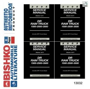 Service Repair Manuals For Dodge Ram 1500 For Sale Ebay