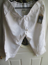 Converse One Star Woman's Linen Stretch 3/4 Pants Large NWTS Retail 19.99