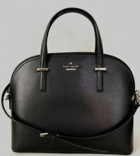 New Kate Spade New York Carli Patterson Drive Pebble Leather handbag Black