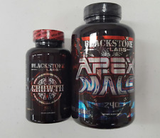 Blackstone Labs Apex Male / Growth Combo-Test Booster/Build Muscle/FREE SHIPPING