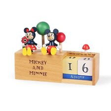 New Mickey Mouse & Minnie Perpetual Calendar - Disney gifts toys collection