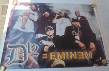 EMINEM D12 ORIGINAL POSTER UNIVERSAL MUSIC COLOMBIA 2004