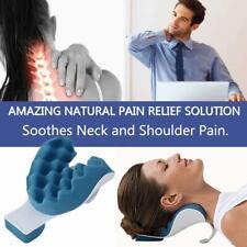 Sale! Neck Shoulder Pain Relief Massage, Plastic &  Foam Traction Travel Pillow