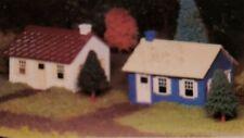 """BACHMANN #45608 """"O"""" SCALE PLASTICVILLE CAPE COD HOUSE NEW IN ORIGINAL BOX"""