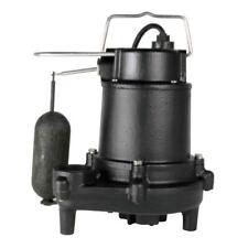 Utilitech Cast Iron Sump Pump Submersible 3,600 GPH - 10' Cord - Vertical Switch