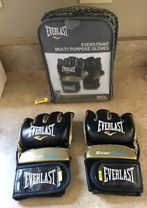 Everlast Everstrike Multi-Purpose Gloves  Ever cool Gold (M/L) new genuine