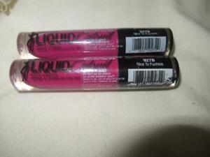 Wet n Wild Catsuit Matte Liquid Lipstick 927B Nice To Fuchsia Sealed 2 Piece