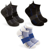 3 Pairs Sof Sole Men's Multi Sport Cushion Athletic No Show Low Cut Tab Socks