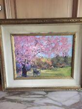 Robert A. Waltsak Framed Original Oil Painting on Canvas 24 x 20 inches