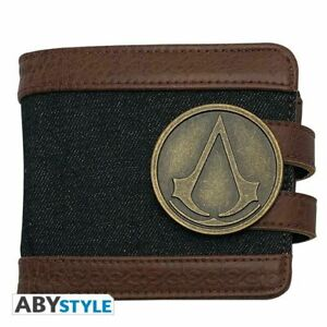 Official Assassin's Creed Crest Gaming Premium Wallet Unisex ABYBAG374